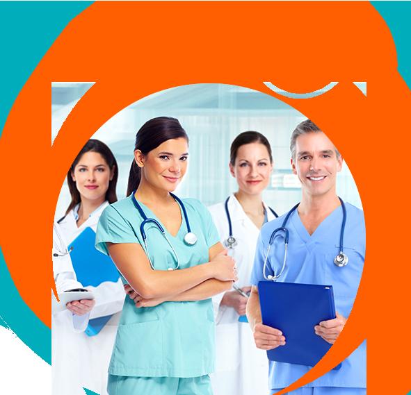grup de medici zambind besmax